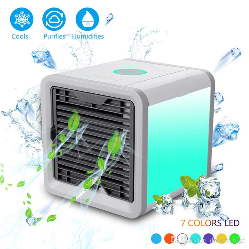 Arctic Air Personal Space Cooler Usb Mini Portable Conditioner Humidifier Purifier Desktop Cooling Fan For Office Home Outdoor Trave Funny Birthday