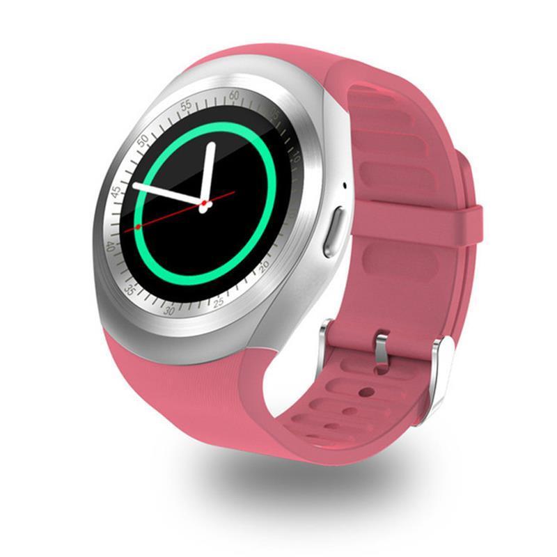 Táctil Relojes Tarjetas Redonda Para Muñeca Empresarial Inteligente Sim Bluetooth Con Smartwatch Reloj Pantalla Ranura Y1 HeED29YWbI