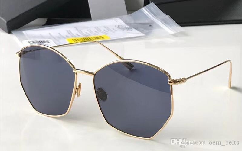 97fe538ac75 2018 New Big Frame Hipster Sunglasses Luxury Polarized Sunglass Men Women  Oversized Shades Sun Glass Avant Garde Abumbral Eyewear With Box Polarized  ...