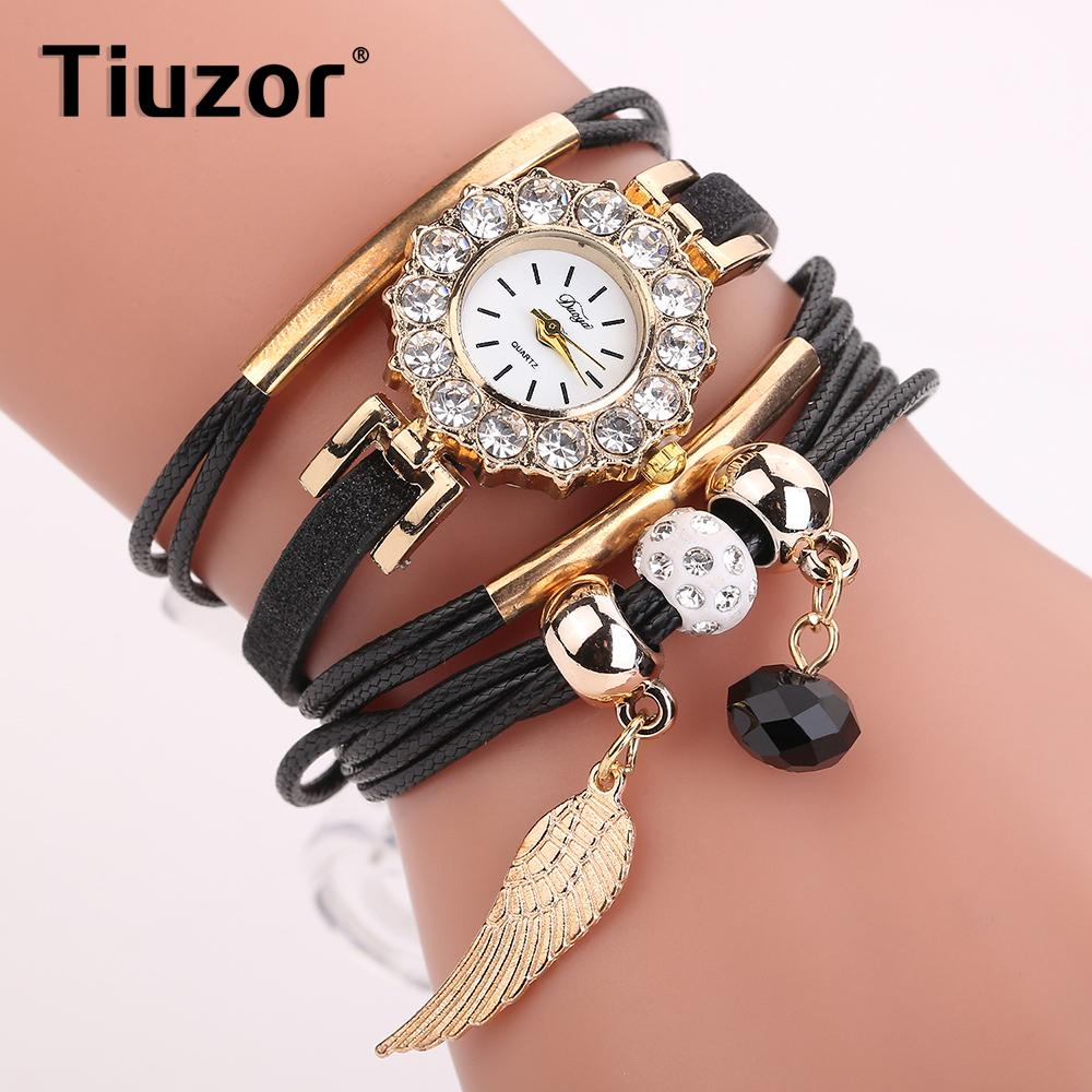 Women Rhinestone Bracelet Watches 2018 elegant ladies wrist watch female clock women's top  Small relgio feminino