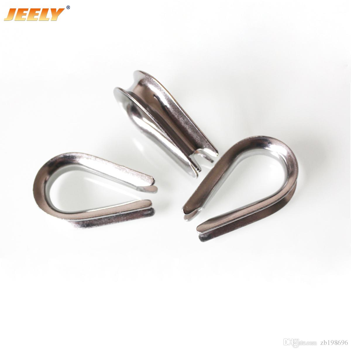 Europe 304 Stainless Steel Wire Winch Rope Thimble M4 M22 Marine How To A Boat Hardware Online