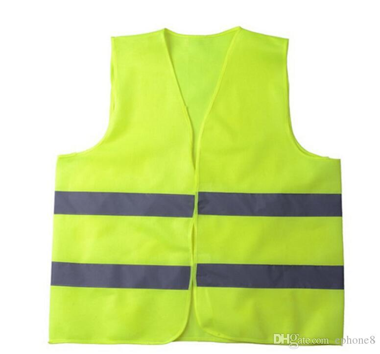 High Visibility Working Safety Construction Vest Warning Reflective traffic working Vest Green Reflective Safety Clothing 2018 hot new