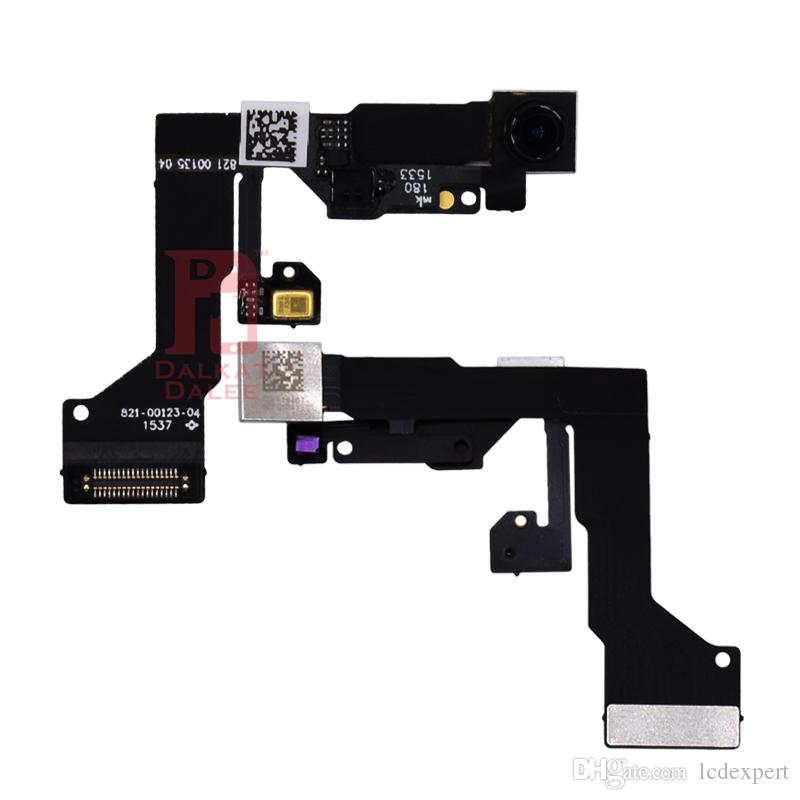 Ön Küçük Kamera iPhone 5 5 s 5c SE 6 artı 6 s 6 S ARTı 7 8 Artı X Yakınlık Sensörü Işık Flex Değiştirme