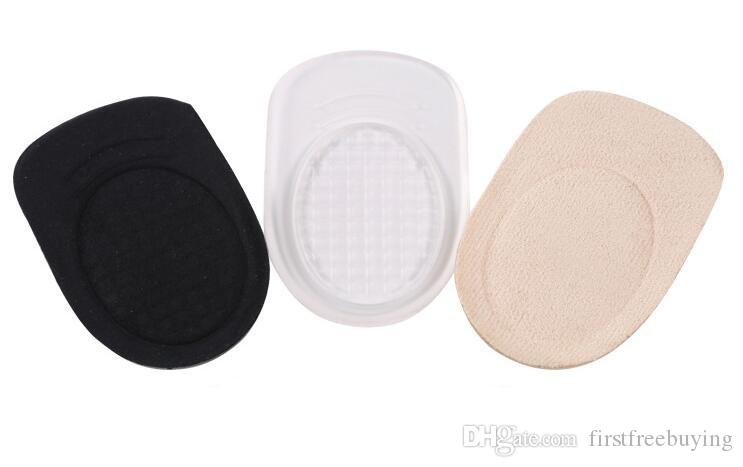 Silicone Heel Pad Sports Shock Shoe Insoles Soft Heel Pads Men Comfortable Women Thickened Goblets Cushion