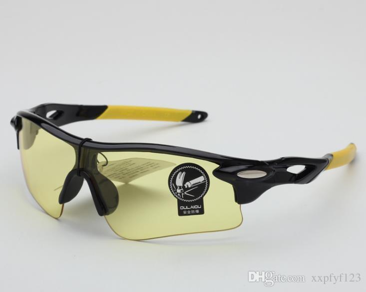 눈부신 컬러 필름 사이클링 태양 유리 스포츠 고글 남자 여자 아이 워드 야외 승마 안경 폭발 방지 안경 선글라스 A322