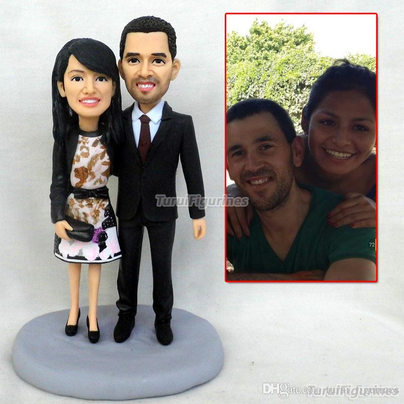 Custom Father And Mother Bobblehead Family Gift Parents Thank You