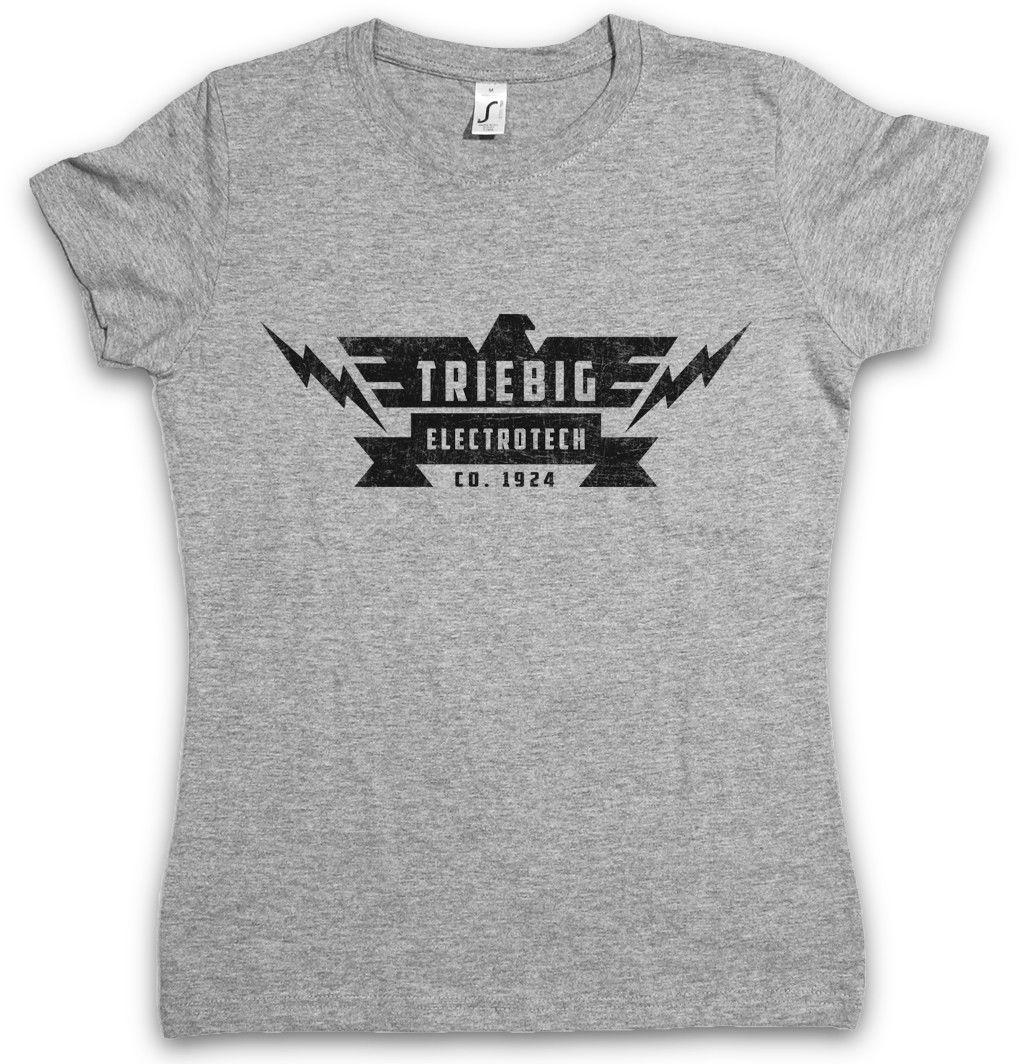 867f04647 TRIEBIG ELECTROTECH WOMEN T SHIRT The Sign Logo Company Strain Eichhorst  Ordering T Shirts Rude T Shirt From Lanshiren2, $11.56| DHgate.Com