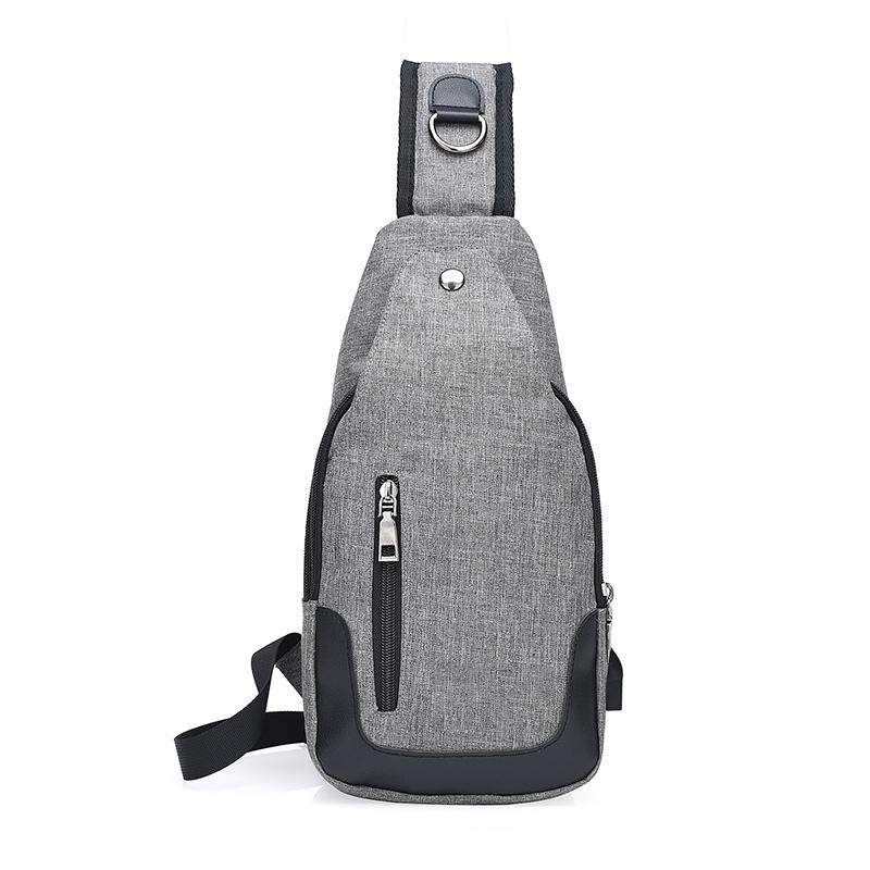 cceefef0fb9 New Anti Thief Gray Crossbody Bag Water Repellent Men Shoulder Bag 9.7 Inch  Ipad Fashion Chest Women Phone Money Chest Nice Handbags Small Hiking  Backpack ...