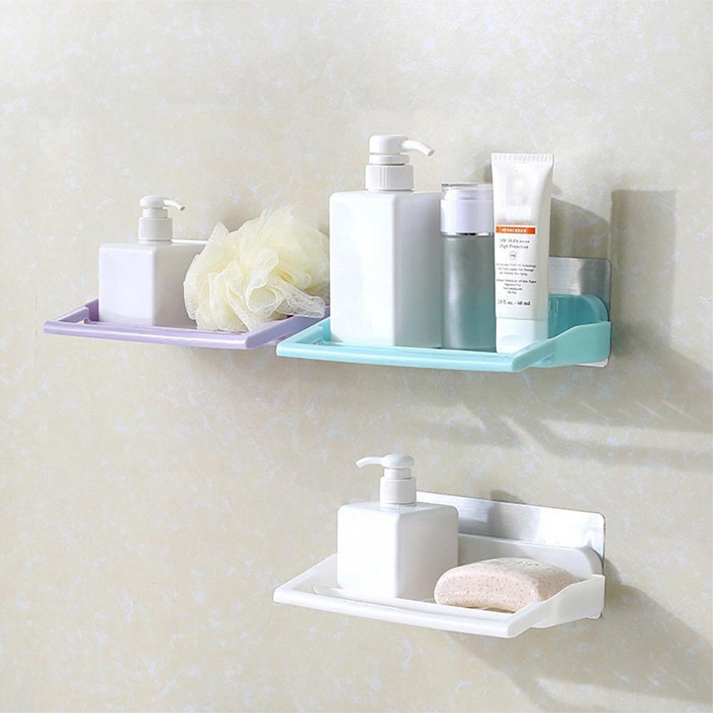 2018 Bathroom Storage Cup Holder Shelf Shower Caddy Organizer Rack ...