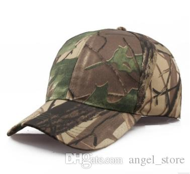 Wholesale Outdoor Quick-drying Hat Jungle Leaves Camouflage Anti-terrorism Sniper Cap Men Women Baseball Cap