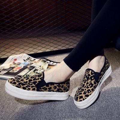 8c73f1879cee Leopard Print Shoes Slip On Shoes Flat Causal Moccasins Women Summer Espadrilles  Shoes Slip On Hemp Round Toe Large Size Dansko Shoes Indoor Soccer Shoes ...