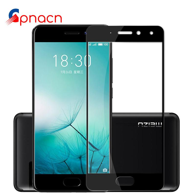 low priced 83592 7f8a4 Full Cover Tempered Glass For Meizu M5 Note M3 Note Pro 6 7 Plus Screen  Protector For Meizu M5 Film case