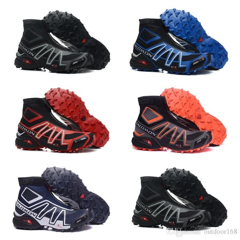 buy online 86ab4 ad4a5 Salomon Snowcross Waterproof Trail 2018 Athletic Men Running Sports Outdoor  Hiking Shoes Sneakers AAA Best Quality Fashion Sneakers