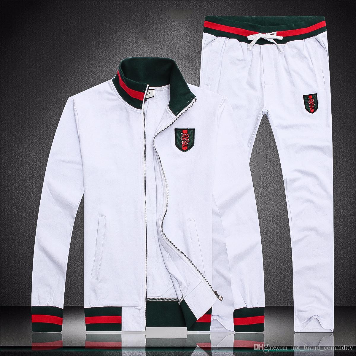 d93cba4c41dc7 Compre Chaquetas LOGO GCCI De Marcas De Lujo Para Hombre Primavera Y Otoño