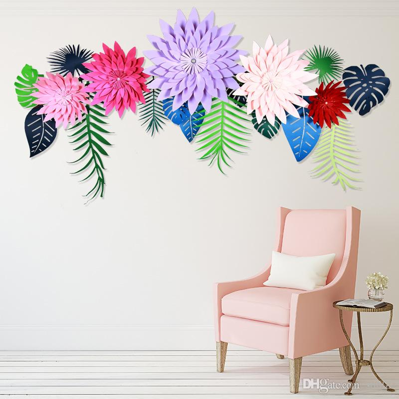 2018 handmade simulation wall flowers creative fake artificial diy 2018 handmade simulation wall flowers creative fake artificial diy half made paper flower home wedding party decoration 6 5zh6 c from sd002 168 dhgate mightylinksfo