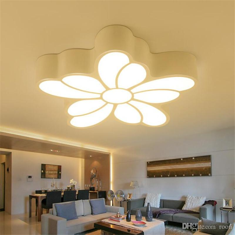 Delightful 2019 R7 Modern Acrylic Design Ceiling Lights Bedroom Living Room 90~260V  White Ceiling Lamp LED Home Lighting Light Fixtures From Roon, $156.19    DHgate.Com