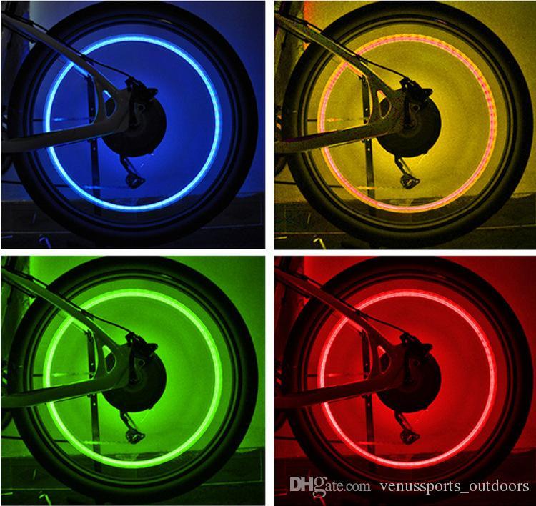 luci della ruota della bici Cranio MIX LED Flash Light Lampada al neon Night Bike Car Tire Wheel