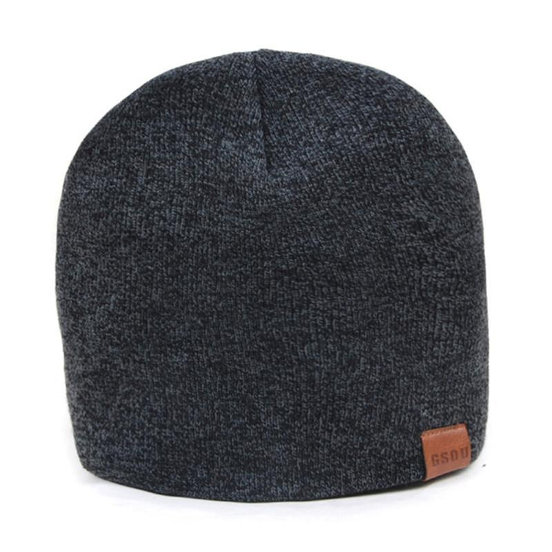 ca1f806be3264 Gsou Snow Autumn Winter Warmth Ski Hats For Men Women Thicken Cotton ...