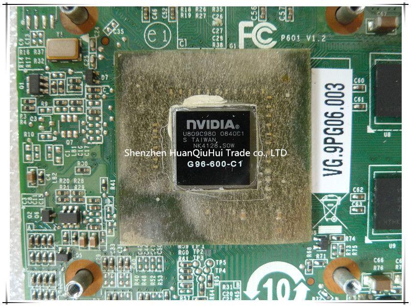 For Acer Aspire 4930G 6920G 6930G laptop NVIDIA Geforce 9600M GS 512M MXM II VG.9PG06.003 G96-600-C1 VGA Video Graphics Card