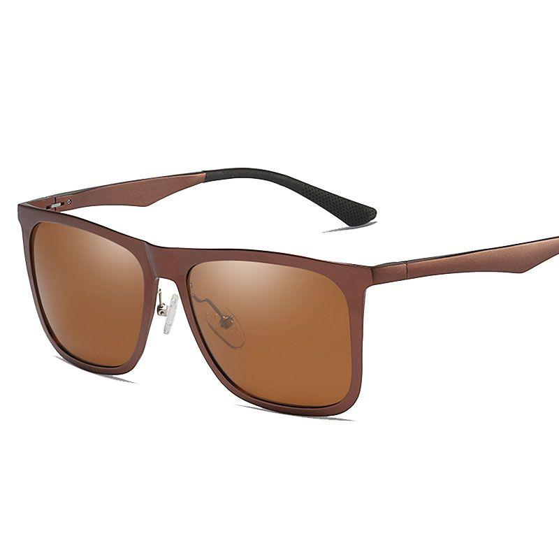 694d0bdb5c Men Polarized Sunglasses Aluminum Magnesium Square Sun Glasses Driving  Glasses Rectangle Shades For Men Oculos Male Polarized Sunglasses Brand  Designer ...
