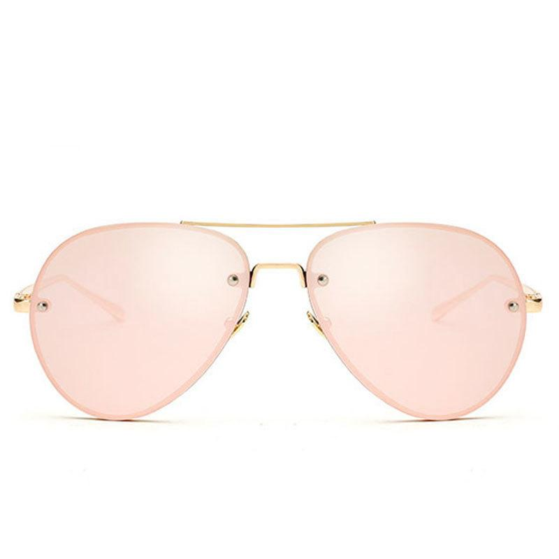 cb6fc0b62f62a CandisGY Aviation Rose Gold Classic Aviation Women Sunglasses Mirror Summer  Style Fashion Glasses Vintage Sexy Lady Sun Glasses D18101302