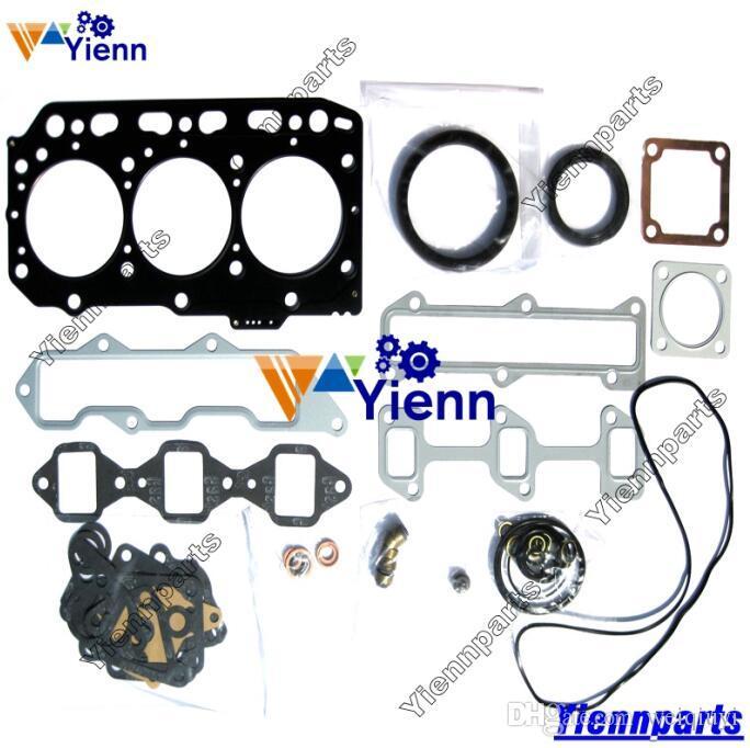 3TNV88 3D88E-5 Full overhaul gasket kit for Yanmar engine GEHL 2026 3640E  3840 loader Kobelco Z82 Z83 Hitachi ZX30U ZX35U ZX35U excavator