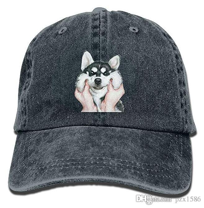 9d6284b4104 Siberian Husky Dog Baseball Caps Simple Low Profile Personalized Hats For Men  Hat Cap Baseball Cap Online with  11.8 Piece on Pzx1586 s Store