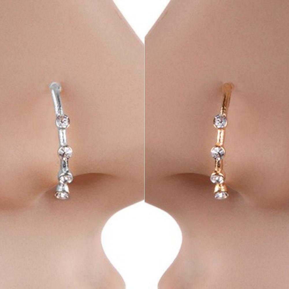 9db48ad2a93d Compre Hot Nose Ring Body Jewelry Punk Piercing Crystal Rhinestone Nariz  Anillo Ball Ball Hoops Piercings Bone Stud Joyería A  0.29 Del Super03
