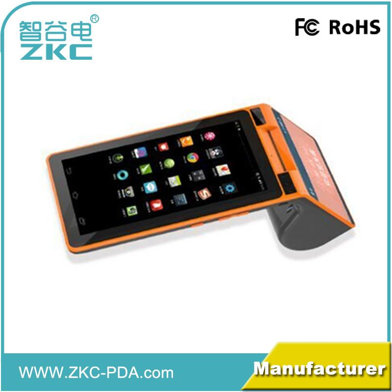 Android 7 touch screen tablet with NFC RFID reader, printer, WiFi, 3G for  loyalty card payment