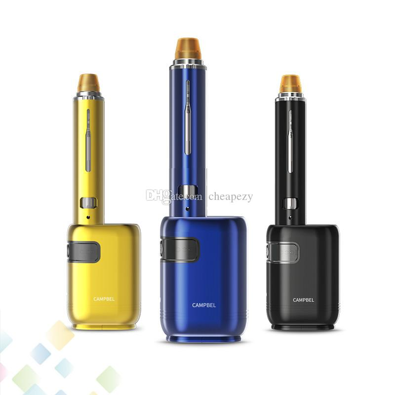 Original Smoant Campbel Kit With 80W Campbel Mod and 2ML Tank 3ml Filter Double tastes Unique Design Fit Single 18650 battery DHL Free