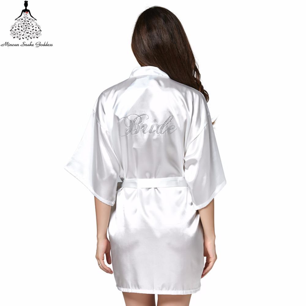 2019 Sleepwear Robe Wedding Bride Robes Pyjama Robe Female Nightwear  Bathrobe Nightdress Nightgowns Chemise Gown Negligee From Regine 5be38b46d