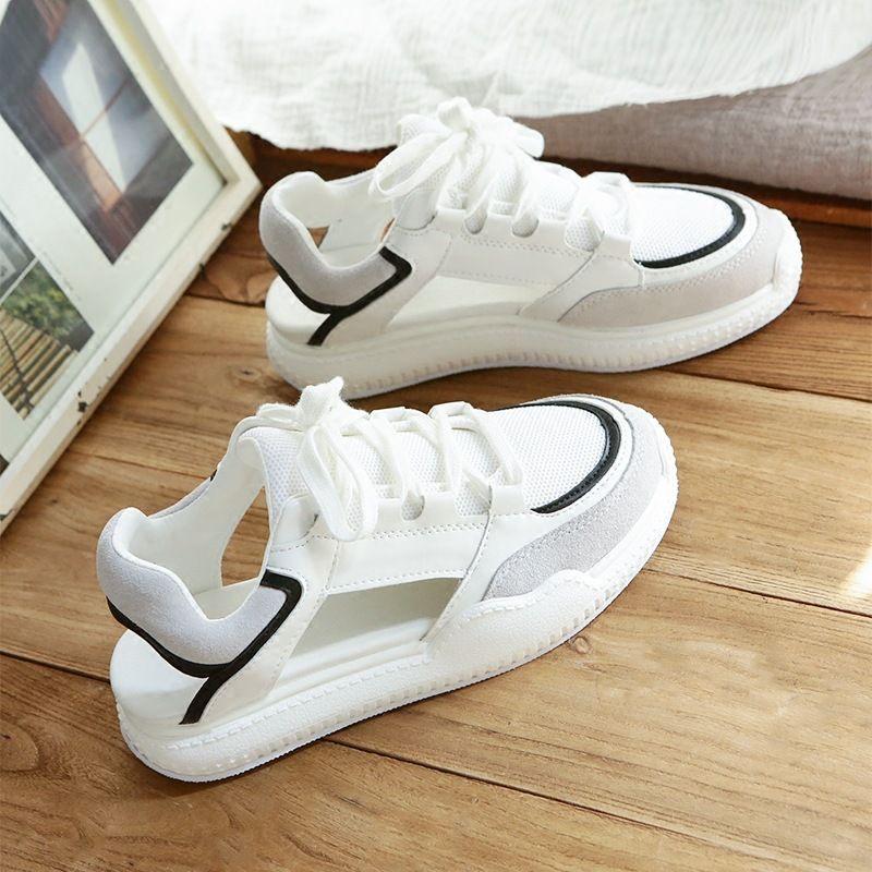 2f3ba31add 2018 New Summer Women Sports Sandals Flat Sandals Platform Heel Gladiator  Leisure Cool Shoes Student Fashion Comfortable High Quality Shoe