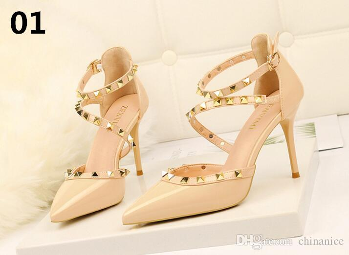 b92ba1b71 Women Pumps Sexy High Heels Sandals Women Summer Suede Plus Size 34 39  Ladies Thick Heel Ankle Strap Open Toe Sandals Orthopedic Shoes Comfortable  Shoes ...