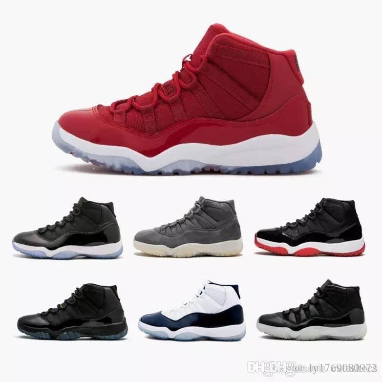 11s White Red Cap And Gown Gym Red Black Stingray OVO Space 45 Midnight  Navy Bred Shoes 11s Basketball Sneaker Drop Ship 11s Shoes 11s Basketball  Shoes ... f8923391b2cc