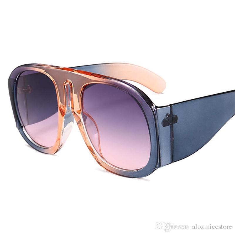 5256f6daf5 2018 Oversized Luxury Vintage Square Sunglasses Women Brand Designer  Fashion Female Sunglass Sun Glasses For Lady Gafas De Sol W109 Sunglasses  Sale Kids ...