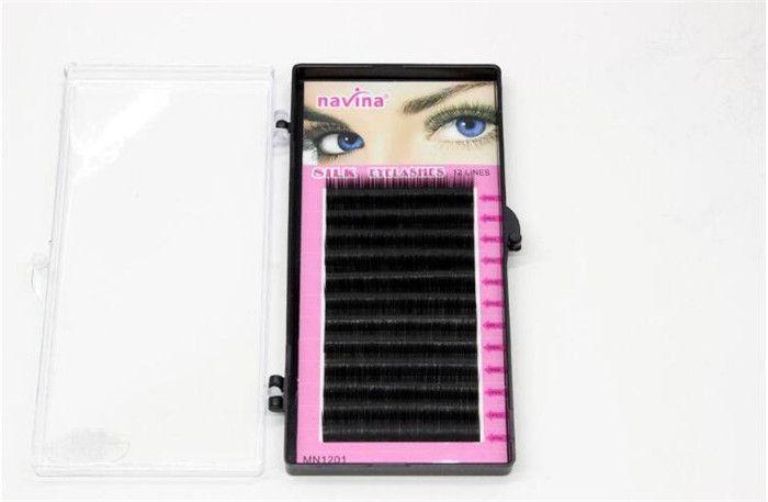 Professional Makeup supply 8mm 10mm 12mm 14mm MINK Individual Eyelash Extension maquiagem Handmade Artificial Fake False Eyelashes X061