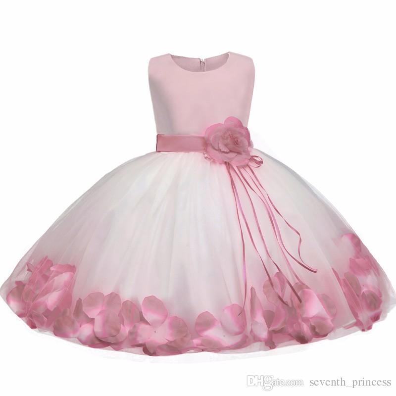 Acquista Toddler Fancy Clothes Neonato 1 Anno Di Compleanno Vestito ... 7807a070a9a