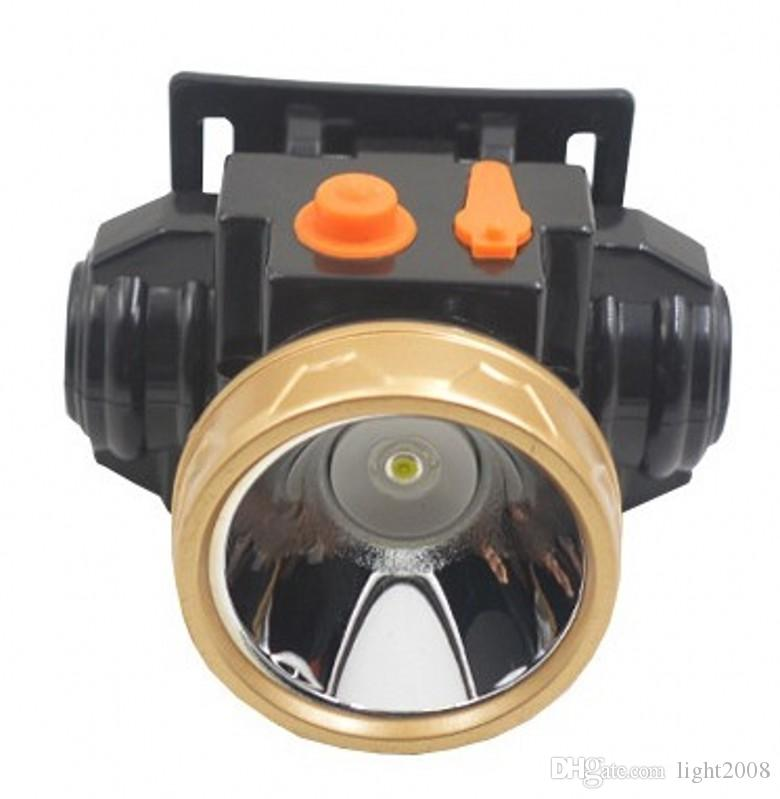 3322A lithium battery Headlamp LED 10W Outdoor Waterproof Rechargeable Long Range Probe Miner's Lamp Hunting Fishing Hiking Reading.