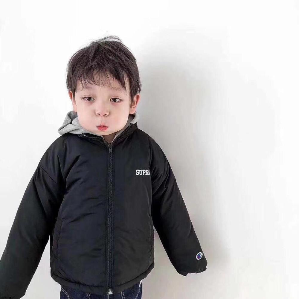 27379a1c5552 Kids Winter Jackets New Pattern Keep Warm Girl Down Cotton-padded ...