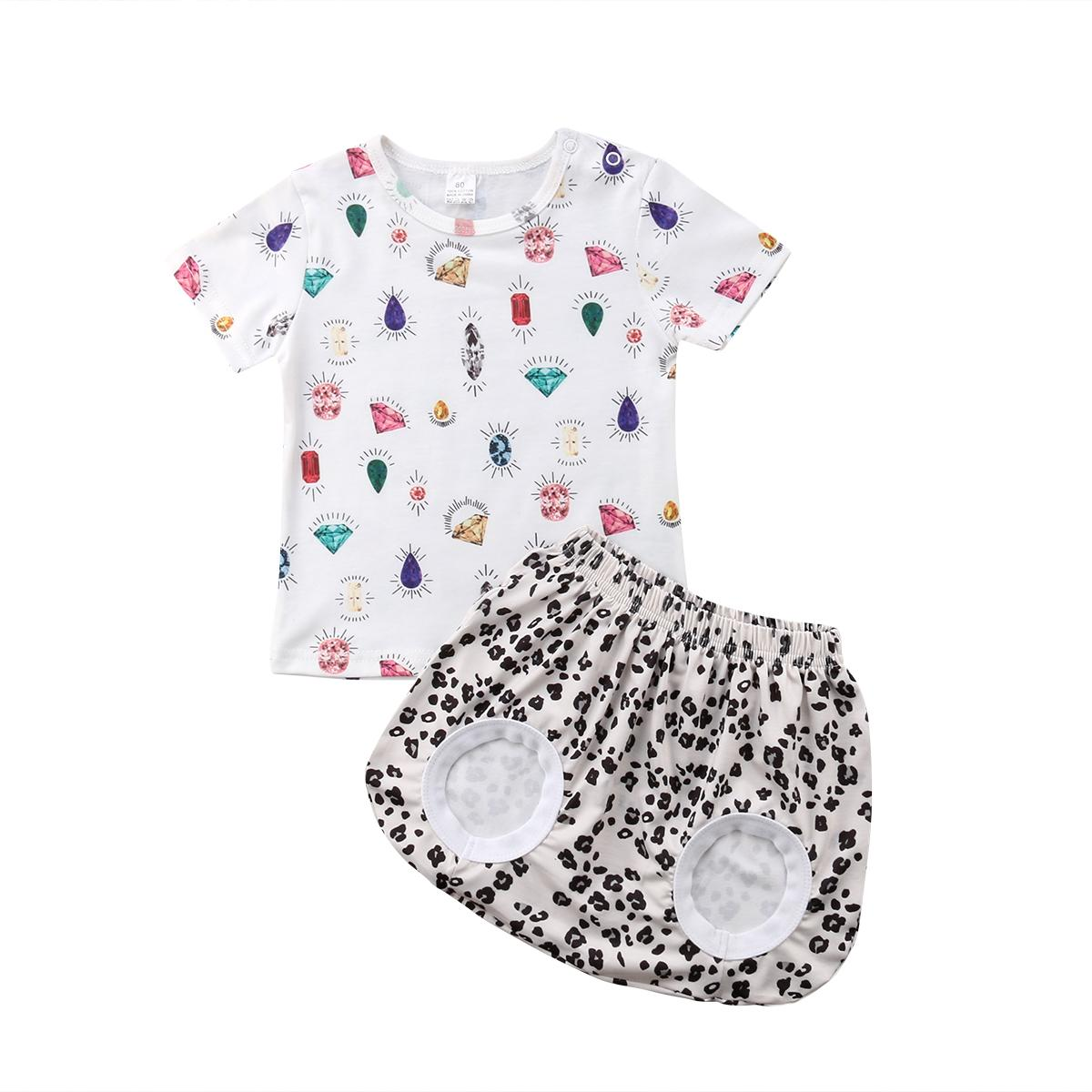 2019 gemstone baby girls t shirt top pants shorts outfits newborn kids clothes set from coolhi 39 6 dhgate com