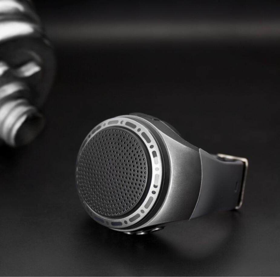 U6 smart phone wearable audio watch self-timer Bluetooth speaker hands-free call plug TF card speaker