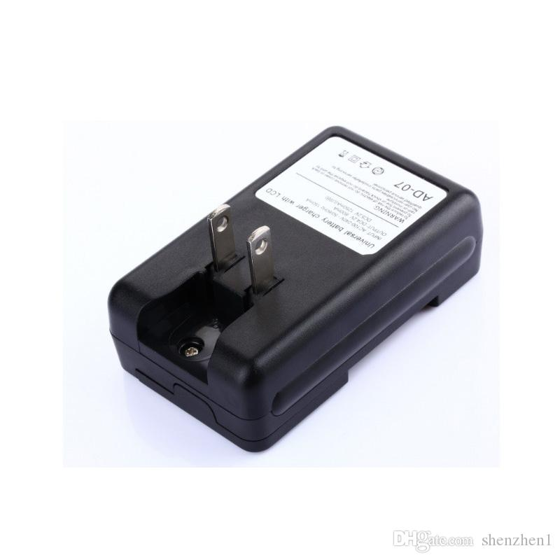 Universal-LCD-Bildschirm USB-Telefon Li-Ion Home Wall Dock Reise-Ladegerät für Handy STY027