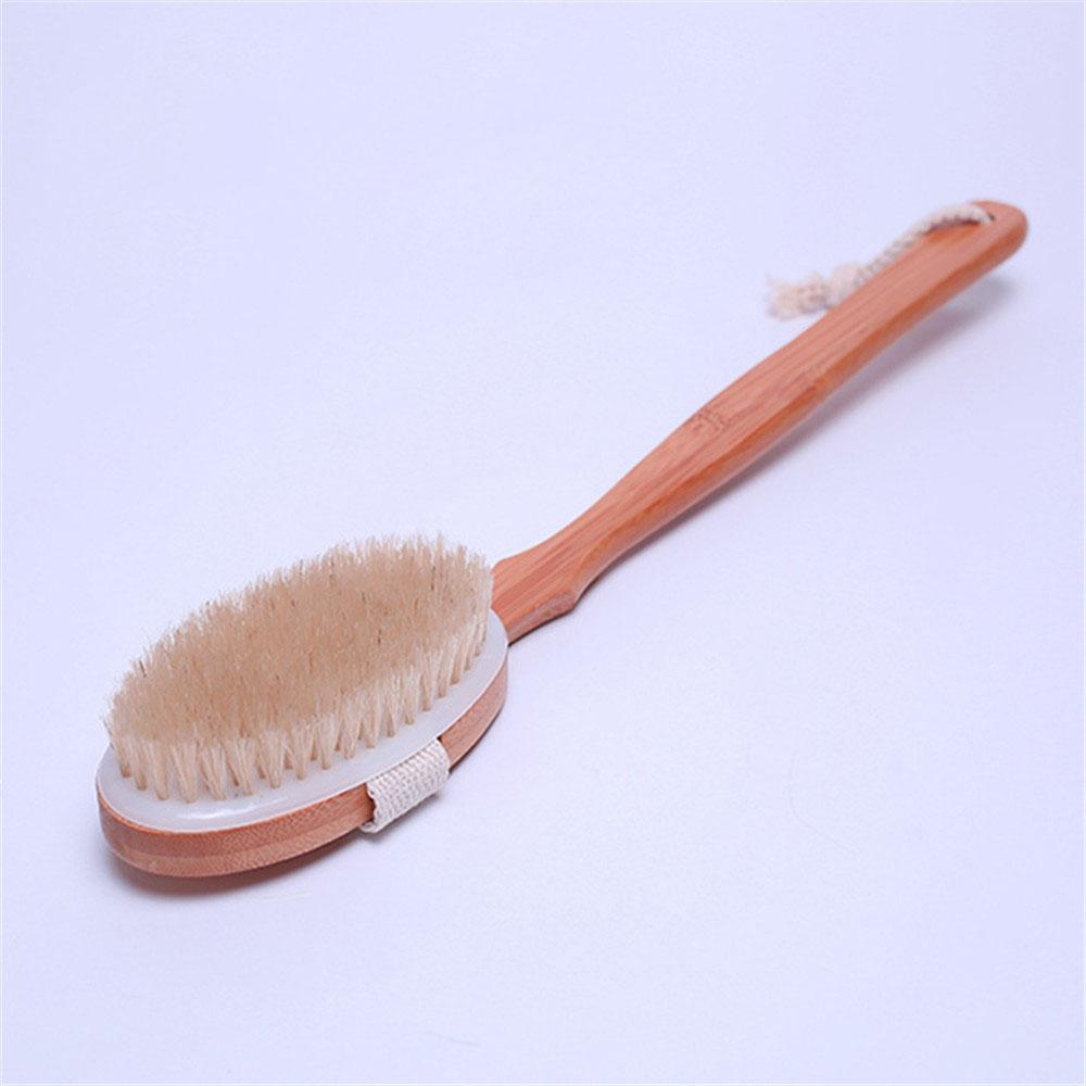 2018 Wooden Bath Shower Body Back Brush Detachable Japanese Style ...