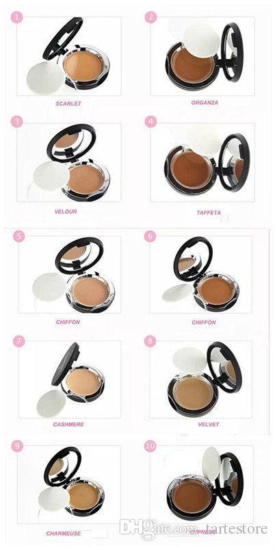 Neue Fabrik Mineral Touch Creme Foundation Concealer Gesichtspuder Pressed Pulver Touch 10 Farbe Bronzer Textmarker Pulver