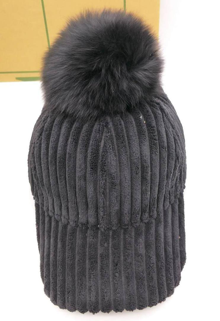 27f33f242de Women Real Dyeing Raccoon Fur Pom Poms Winter Baseball Cap Lady Pompon Fur  Ball Cap Hip Hop Snapback Fitted Hat With Pompom Vintage Baseball Caps Cap  Shop ...