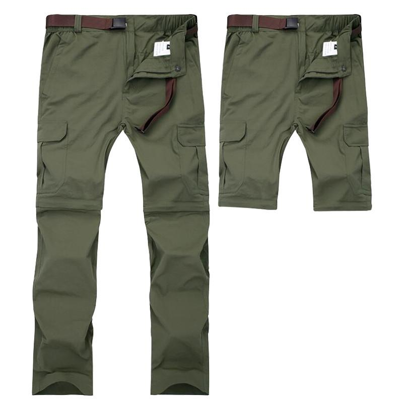 3282664ee6e 2019 Men Military Detachable Cargo Pants Summer Quick Dry Breathable Male  Trousers Joggers Army Pockets Waterproof Tactical Pants 7XL Y1892801 From  Tao01