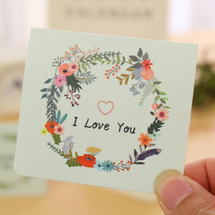 Wholesale korean creative cute flower kawaii exquisite blessing wholesale korean creative cute flower kawaii exquisite blessing envelope greeting christmas valentines day cards personalized christmas card personalized m4hsunfo