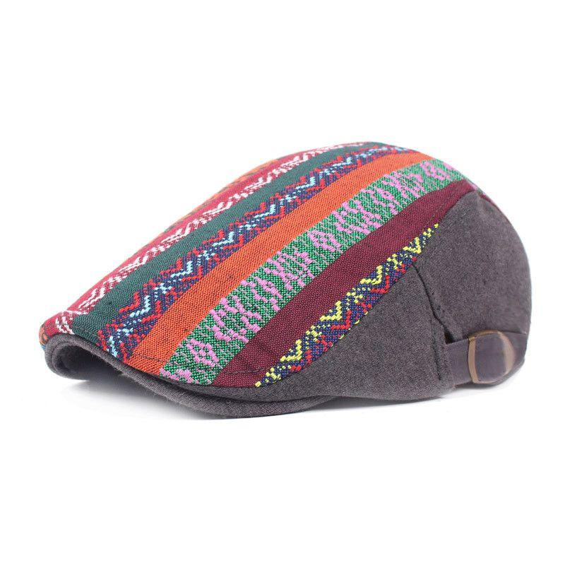 Top Quality Women s Newsboy Hats Natainal Style Spring Autumn Winter ... e5b72424c5cd