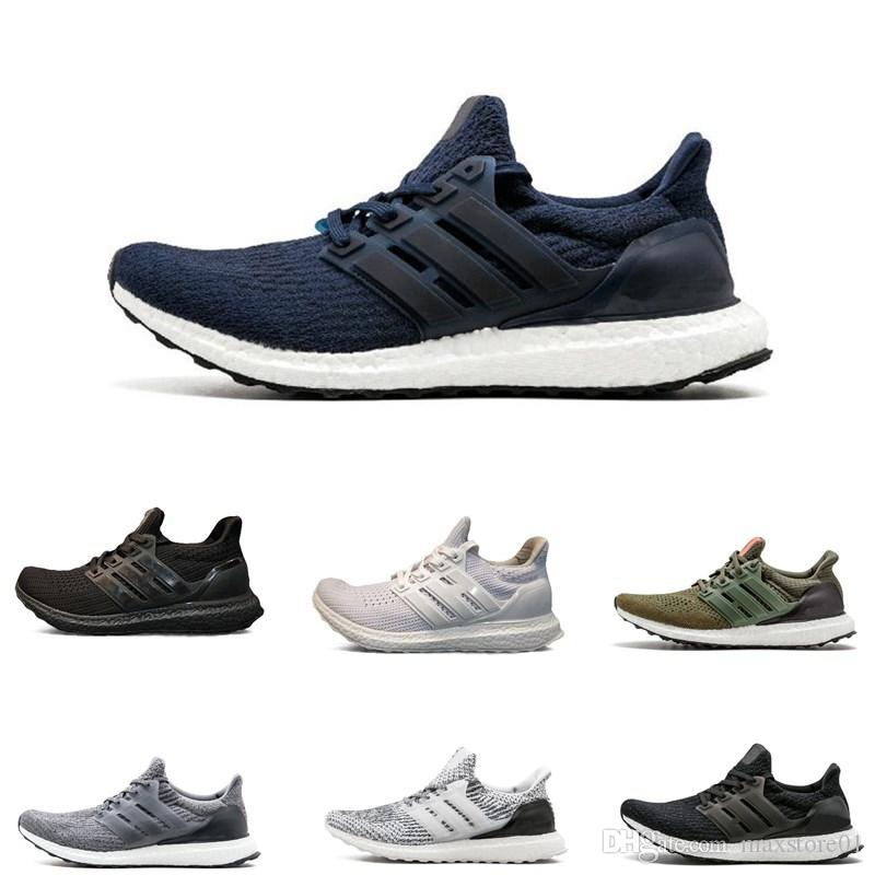 945cf280d84cf Ultra Boots 3.0 4.0 Triple Black And White Primeknit Oreo CNY Blue Grey  Mens Women Running Shoes Ultraboots Sport Sneakers Best Trail Running Shoes  Mens ...