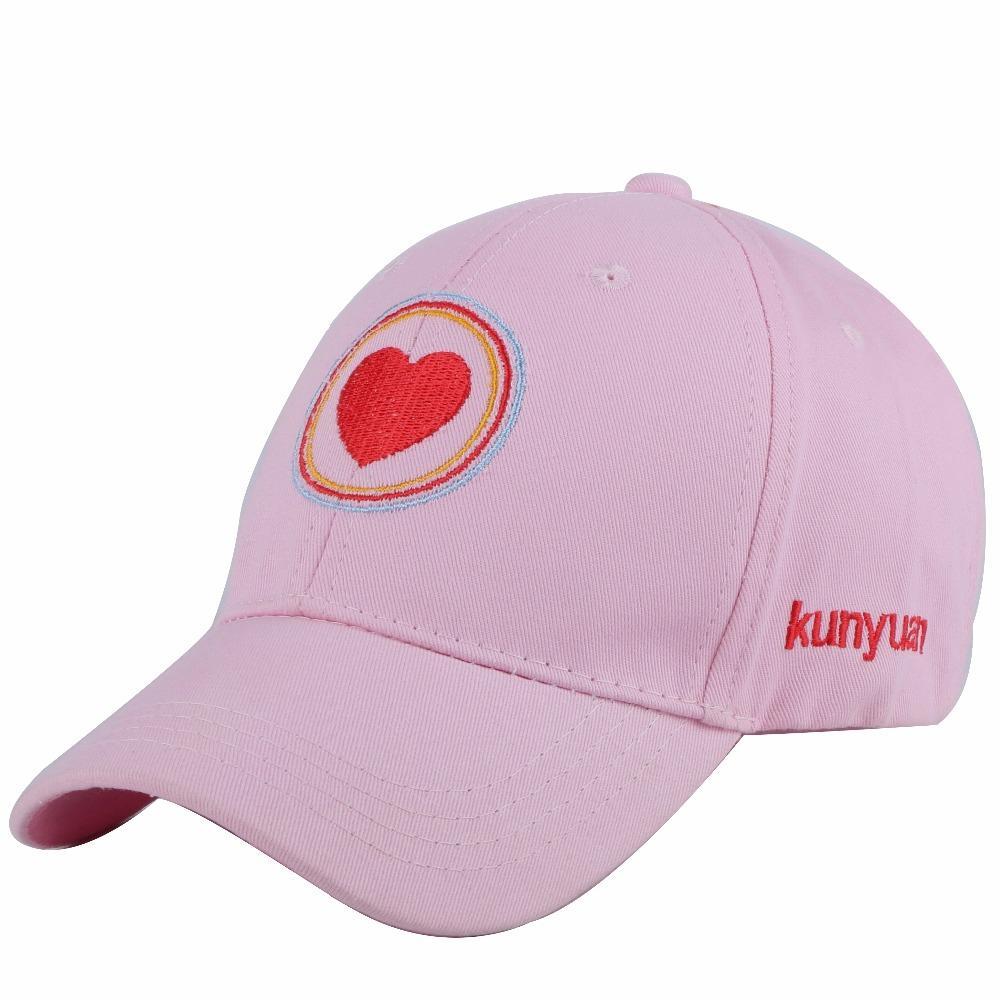 ed21b66cf79 New Girl Boy Sports Baseball Cap Children Lovely Hat Simple Design ...